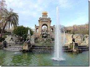 Gaudi Cascarda im Parc de la Ciutadella