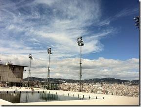 Olympische Becken auf dem Montjuic2
